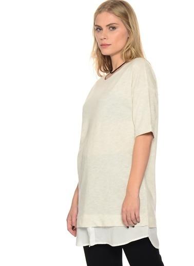 Shana Uzun Gömlek Bej